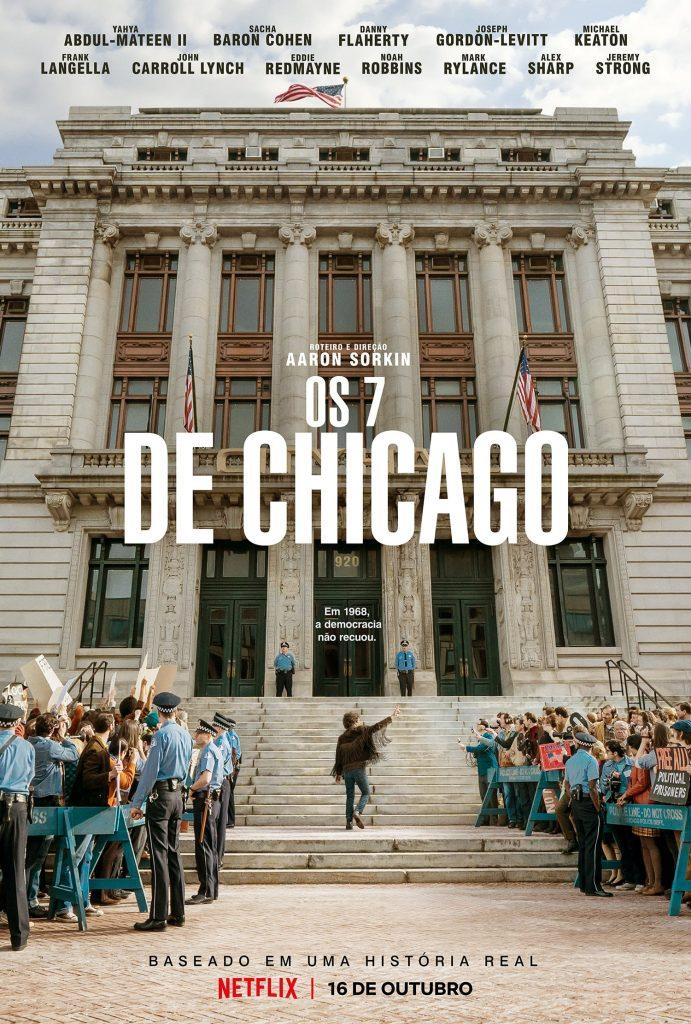 """Os 7 de Chicago"""", filme novo da Netflix, ganha pôster e teaser - Blog  Amaury Jr. - BOL"""